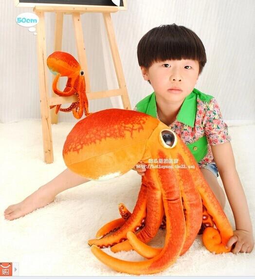 50cm simluation octopus plush toy doll throw pillow w4638 large 130cm cartoon octopus throw pillow plush toy cushion pink octopus doll boyfriend sleeping pillow gift w5377