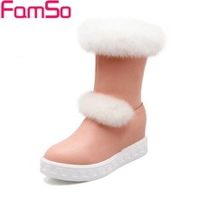 จัดส่งฟรี2016ผู้หญิงรองเท้าหิมะสั้นรองเท้ารถจักรยานยนต์กันน้ำ4สีW Edgesรองเท้าส้นสูงฤดูหนาวขนรองเท้าขี่SBT1806