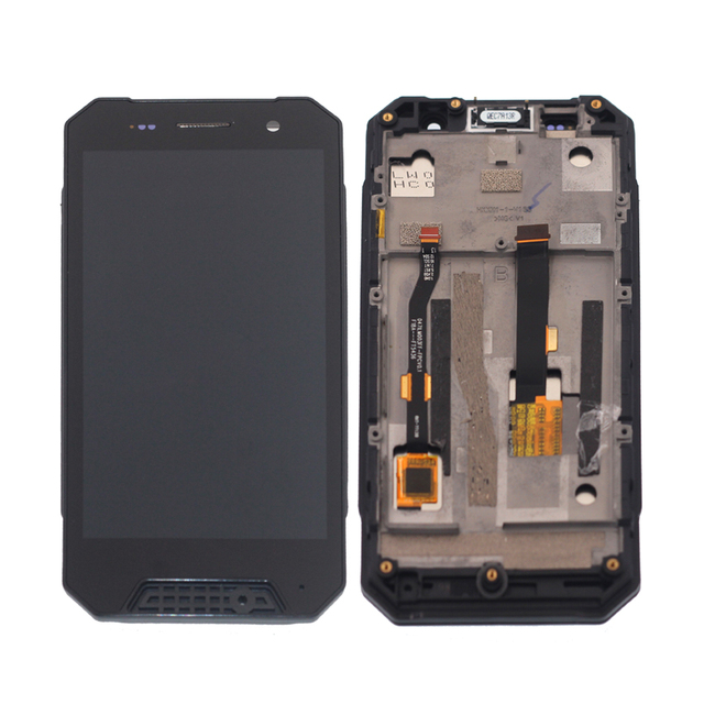 LCD Display With Frame For Nomu  S30 Mini Touch Screen Digitizer Assembly Phone Parts With Free Shipping And Tools