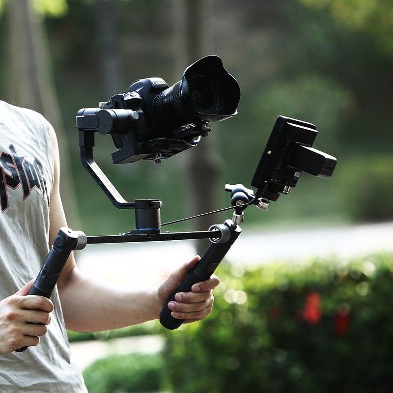 Stabilisateur 3 axes portable professionnel pour caméra et téléphone portable stabilisateur multifonction anti-secousse Benro R1