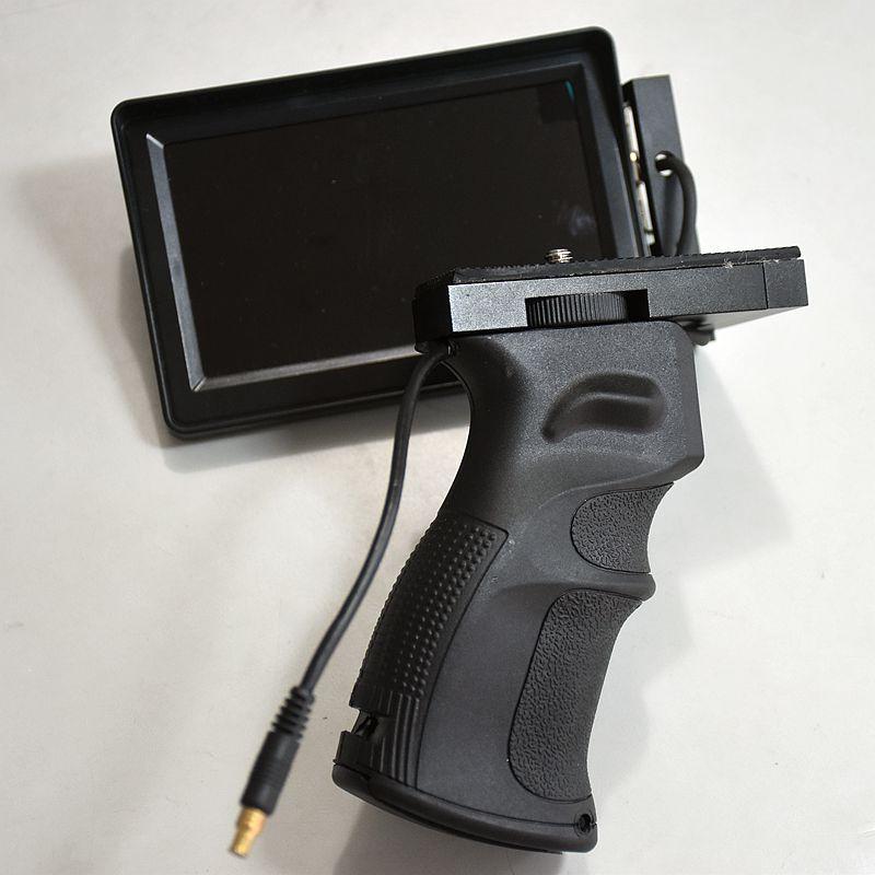 Ecran pliable et poignée pour infrarouge thermique monoculaire 1 pc