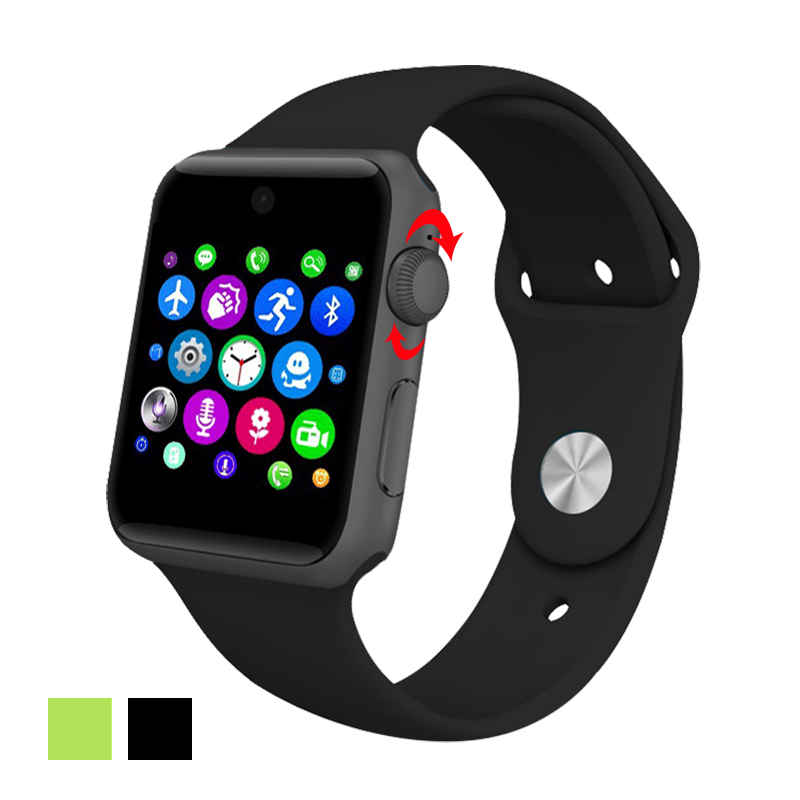 2016 On Wrist Sale Lf07 Smart Watch Clock Sync Notifier With Sim Card Sport Health font
