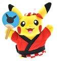 Nueva Llegada 20 cm Pokemon Pikachu Cosplay Ramen muñeco de Peluche Juguetes Muñecas Regalos de Navidad Para Los Niños Envío Gratuito