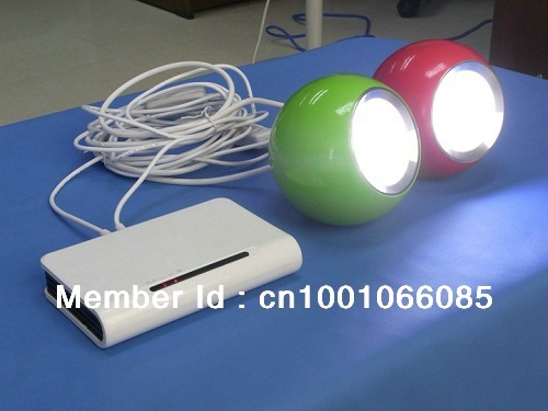 Solar distant  control Apple LED light with lithium battery