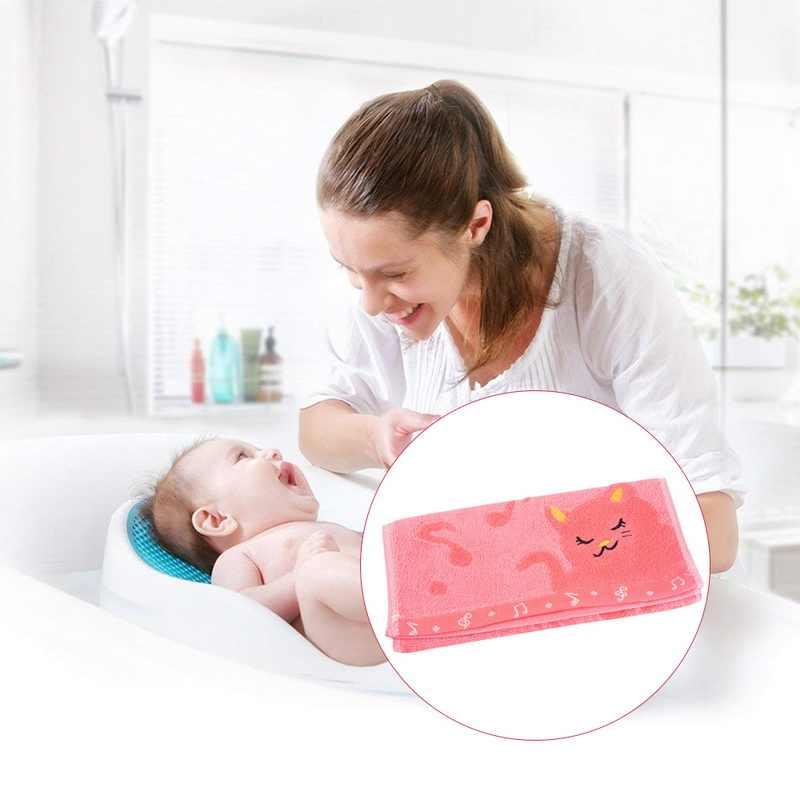 DIDIHOU 25*50 см мини квадратное лицо руки детские полотенца жаккард вышивка кошка волокно мягкое полотенце мультфильм детское полотенце домашняя Ванна