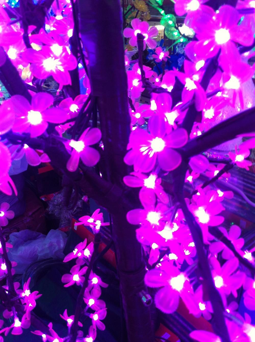 2014 New Holiday Light Christmas Decoration Lights Luxury Handmade Drtificial led Cherry Blossom Tree Light 250cm 1200 Light (7)
