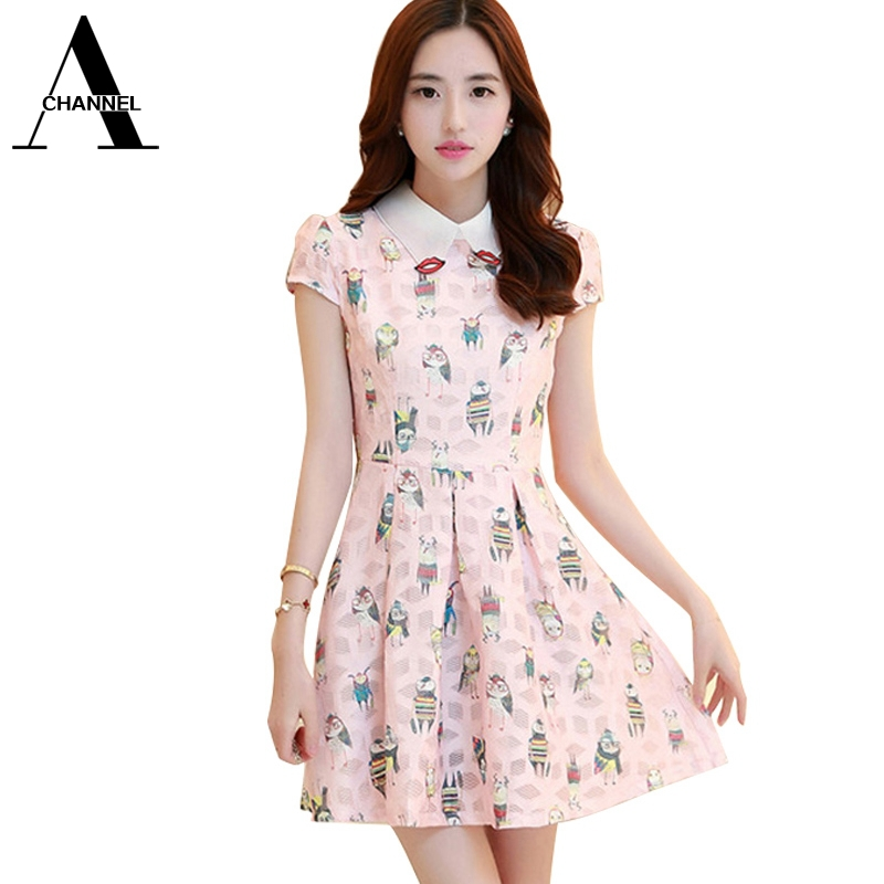 Cute Summer Dresses with Sleeves