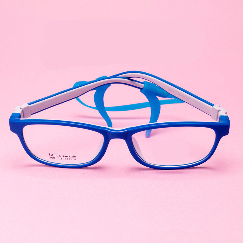 KESMALL 2018 Anak anak Berbentuk Persegi Kacamata Bingkai Miopia Frame  Kacamata Laki laki Perempuan Kacamata Komputer Anteojos Opticos Hombre XN17  di ... 7d95b01e2f