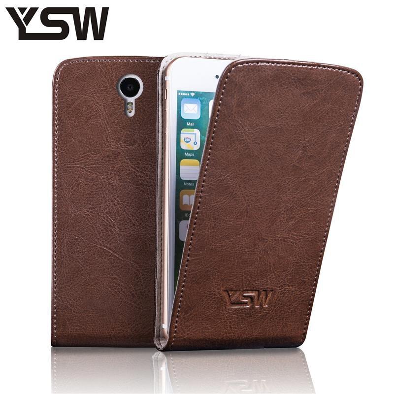 YSW Pour Nomi i552 i551 i508 i507 i506 i505 i504 i503 i502 i501 i500 véritable en cuir case cadeau gratuit avec film aspiration boucle cove