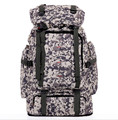 Envío gratis multiuso al aire libre de escalada mochilas 65L de gran capacidad mochila de camuflaje que acampa bolsas F055N