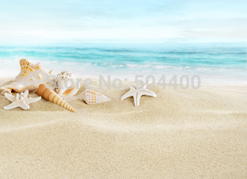 150CM*220CM Hot sale seaside beach printed photography backdrops photo studio photographic background for wedding D-3621 kate backdrop for photography beach ocean wedding series background photo studio seaside scenic backdrops