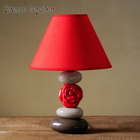 Bedroom Bedside Lamps Simple Modern Creative Lovely Warm Warm Light Wedding Room Decoration Nightlight