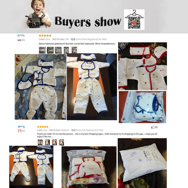 5477a7d729c 7PCS/Newborn Baby Set 0 3M new Infant Clothing suit newborn cotton new born  baby boy girl clothes winter Autumn unisex outfit-in Clothing Sets from  Mother ...