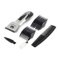 Waterproof Professional Hair Clipper Beard Electric Hair Trimmer Shaver Body Hair Mustache Shaving Trimmer Led display