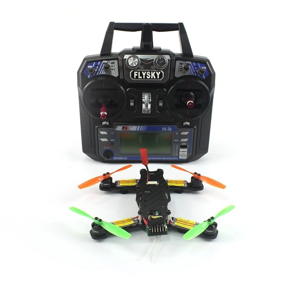Tarot 2.4G 6CH RC Mini Racing Drone 130MM 520TVL HD Camera CC3D for FPV F17840-B