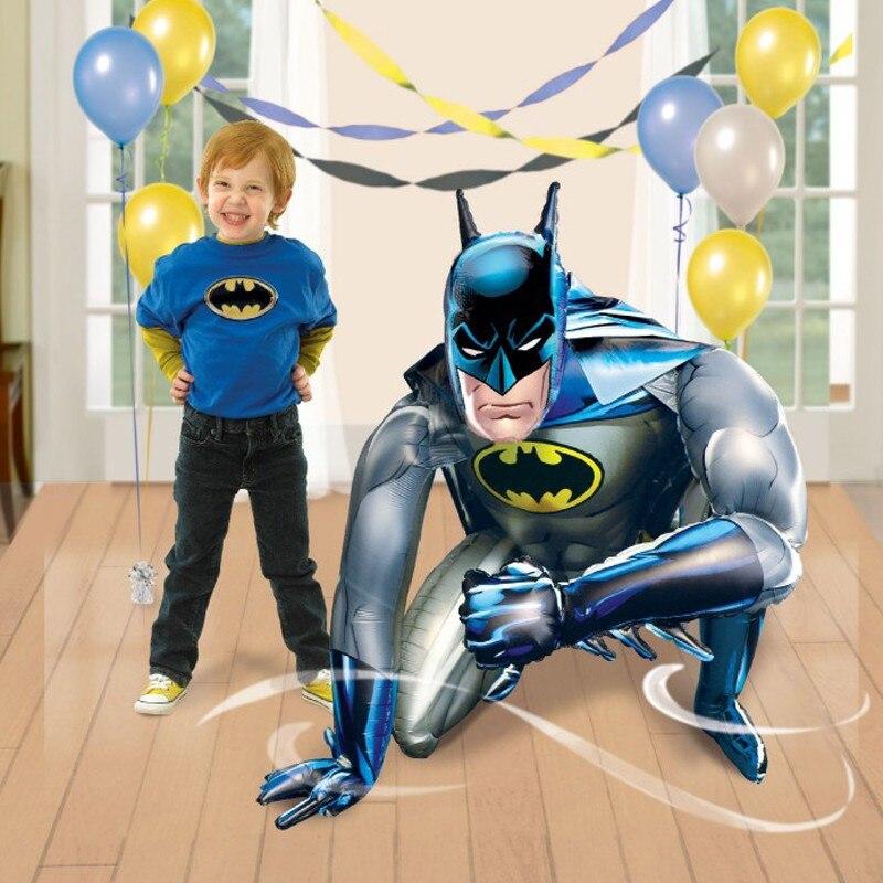 Batman ballons joyeux anniversaire décoration gonflables globos ballons gonflables feuille d'hélium super-héros fête avengers ballons
