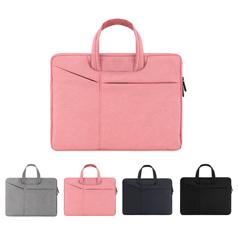13.3 14 <font><b>15</b></font> <font><b>15</b></font>.6 inch Computer Laptop Bag Briefcase Handbag for Dell <font><b>Asus</b></font> Lenovo HP Acer Macbook Air Pro Sleeve Pouch Case image