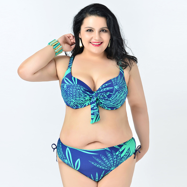 889f4e13db Hot sale plus size swimwear lady push up bikinis female summer beachwear  woman Bathing Suits Large Bust 2XL-6XL Brazilian secret