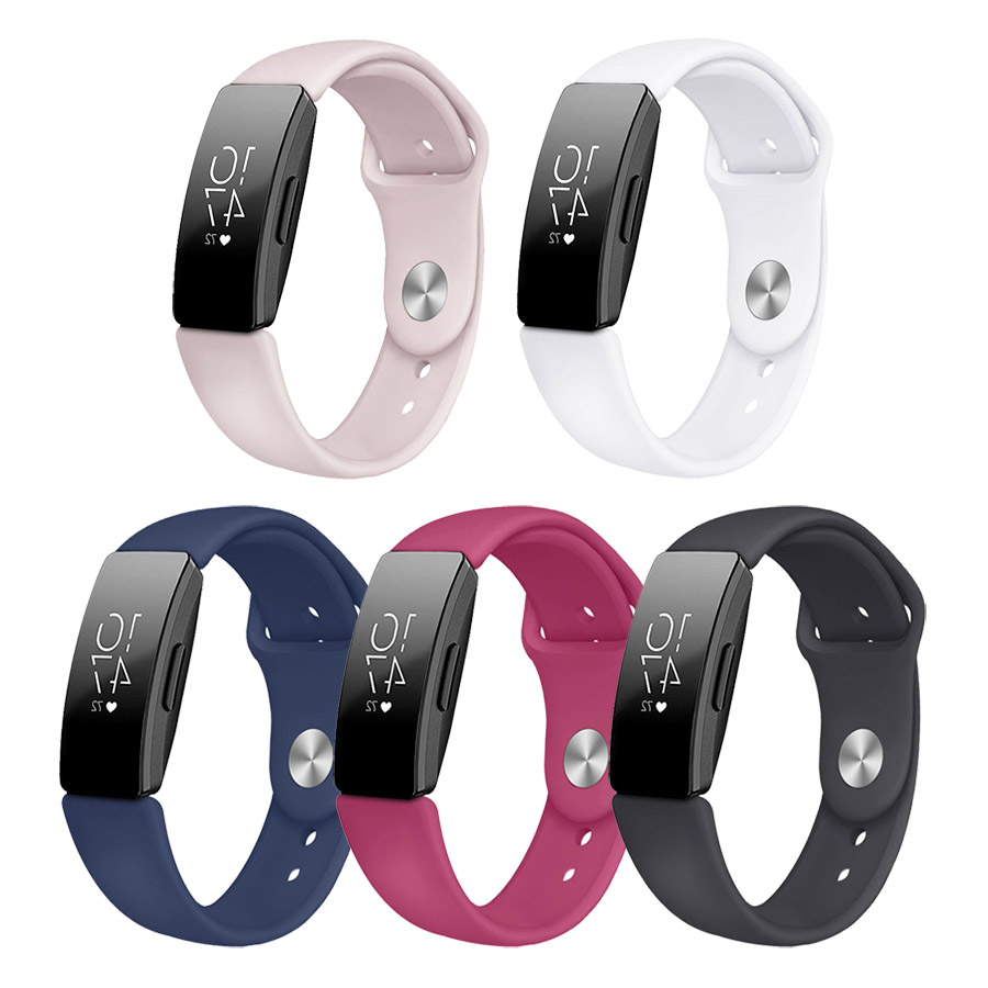 Levering Siliconen Vervanging Polsband Strap Bands Voor Fitbit Inspire/inspire Hr Band Smart Horloge Accessoires In Pain
