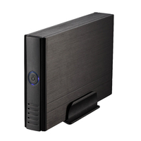 Free Shipping USB3 0 SATA Super Speed 3 5 SATA Hard Disk Drive Encloure Case Box