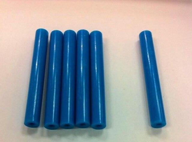 จัดส่งฟรี 100 Pcs 10x70 มม. Ended PCB Fixture แผ่นชิ้นส่วน POM ความดันบาร์สีฟ้า