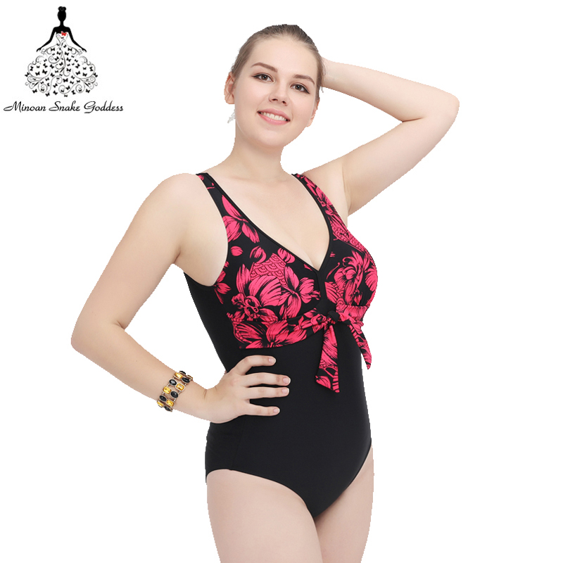 Swimwear One Piece Swimsuit Swimwear Large Size women swimwear bathing suit beach wear plus size swimwear one piece swim suit women cover up swimwear beach dress skirt one piece swimsuit printed tunic bathing suit 2017 new arrival large size