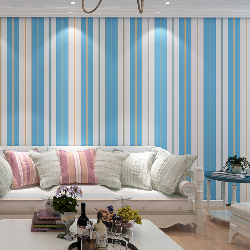 Simple Modern 3D Non-woven Stripe Wall Paper Home Decor Wallpapers For Living Room Bedroom TV Background Wall Covering Roll colomac modern 3d striped non woven vinyl pink living room wallpaper roll thicken bedroom tv background decor wall paper roll