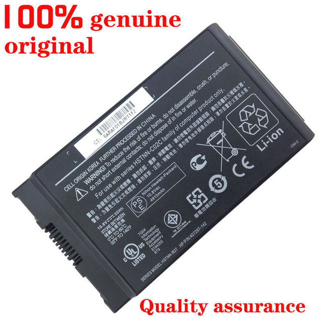New original Laptop Battery for HP Business Notebook 4200 NC4200 NC4400 TC4200 TC4400 HSTNN-C02C HSTNN-IB12 IB27 UB12 LB12