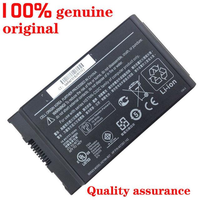 Nueva batería original del ordenador portátil para hp business notebook 4200 nc4200 nc4400 tc4200 tc4400 hstnn-c02c hstnn-ib12 ib27 ub12 lb12