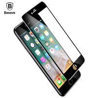 Baseus Newest 5D Screen Protector For IPhone 7 8 Tempered Glass Full Screen Anti Blue Light