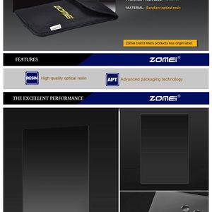 Image 3 - Zomei כיכר מסנן 100mm x 150mm צפיפות ניטראלי אפור ND248 ND16 100mm * 150mm 100x 150mm עבור Cokin Z PRO סדרת מסנן