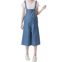 Summer Maternity Shorts Pants Pregnancy Suspenders For Pregnant Women Overalls Braced Jumpsuits Uniforms Prop Belly Rompers(China)