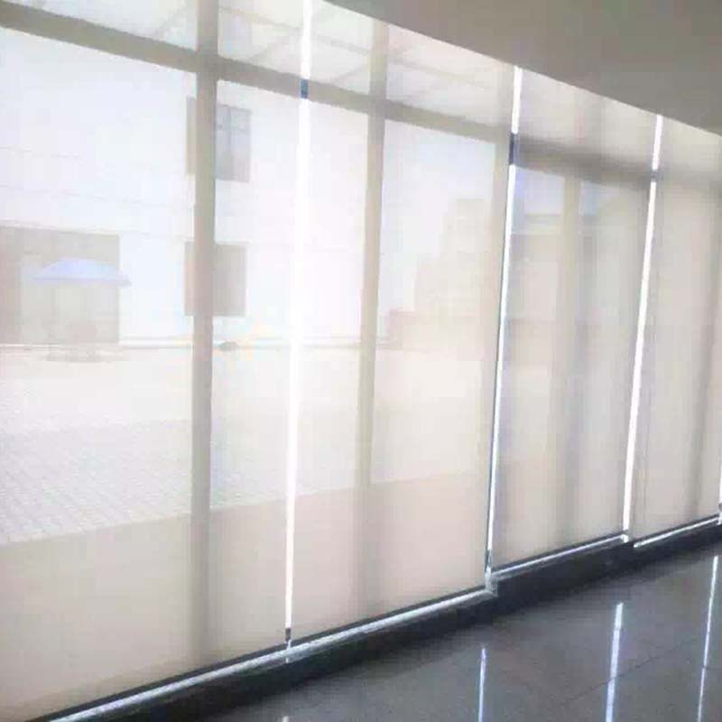 Battery motorized roller shades luxury electric roller for Electric skylight shades motorized blinds