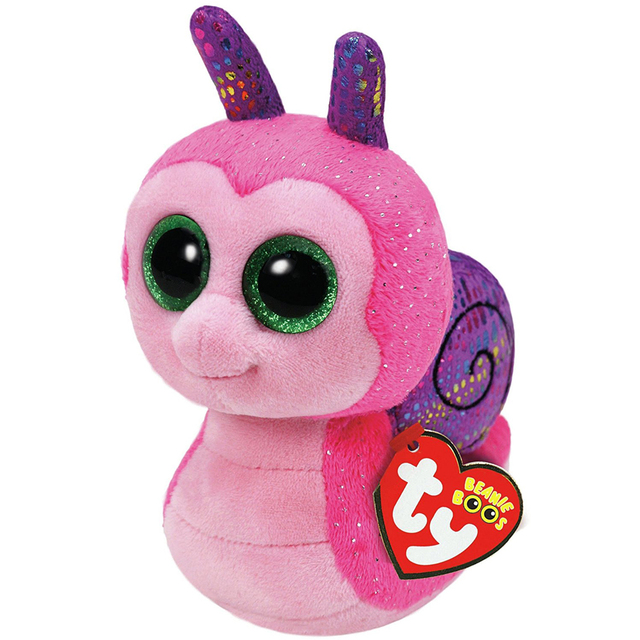 pyoopeo ty beanie boos 6 u0026quot  scooter snail beanie baby plush stuffed doll toy collectible soft toys