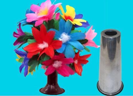 Fleur Botania tours de magie scène cylindre magique apparaissant fleur brousse comédie Illusion pour les spectacles de magie magicien professionnel
