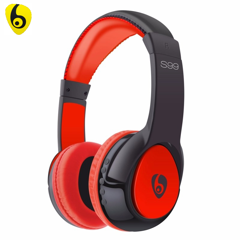 Bluetooth Headphones OVLENG S99 Surround Wireless Stereo Headset Handsfree Foldable Earphone with Mic for iPhone Android Phone bh790 stereo v4 1 bluetooth wireless headphones car driver handsfree with mic earphone business headset for iphone android sp029