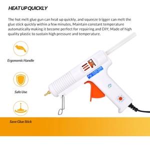 Image 3 - 150W 100W Eu Plug Hotmelt Lijmpistool Professionele Hoge Temperatuur Verstelbare Graft Reparatie Tool Elektrische Heat Gun diy Thermo Tool