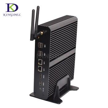 Hot Mini PC i7 5500U HTPC Intel Nuc Fanless Computer Broadwell Max Turbo Frequency 3.0GHz 4M Cache Windows  10