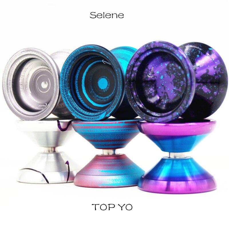 New Colors TOPYO Selene  YOYO 7003 metal  yoyo for professional  player Metal ball Competition YOYO-in Yoyos from Toys & Hobbies    1