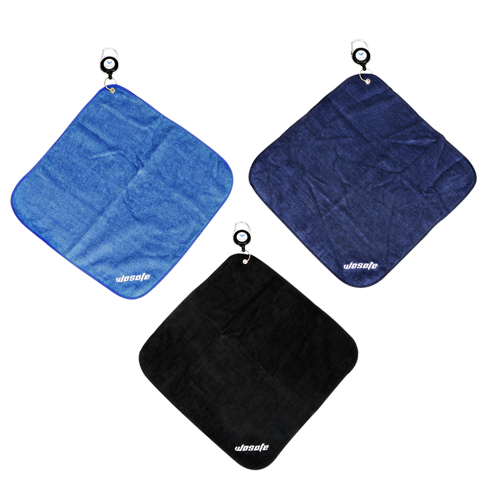 Golf Towel Cotton Mini Clean For Golf Clubs Tool Three Colours Are Optional