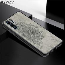 Huawei P30 Pro Pano Textura de Silicone À Prova de Choque TPU Macio Phone Case PC Duro Para O Huawei P30 Pro Tampa Traseira Huawei p30 Pro Fundas