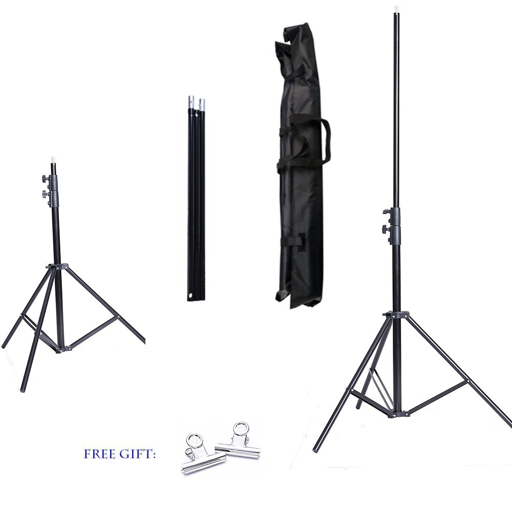 CY Professional 2M X 2M(6.5ft*6.5ft) Photo Background Support System Stands Adjustable Backdrop Support Photography Accessories ashanks pro photography studio photo backdrops frame background support system 2m x 2 4m stands for photo shoot carry bag