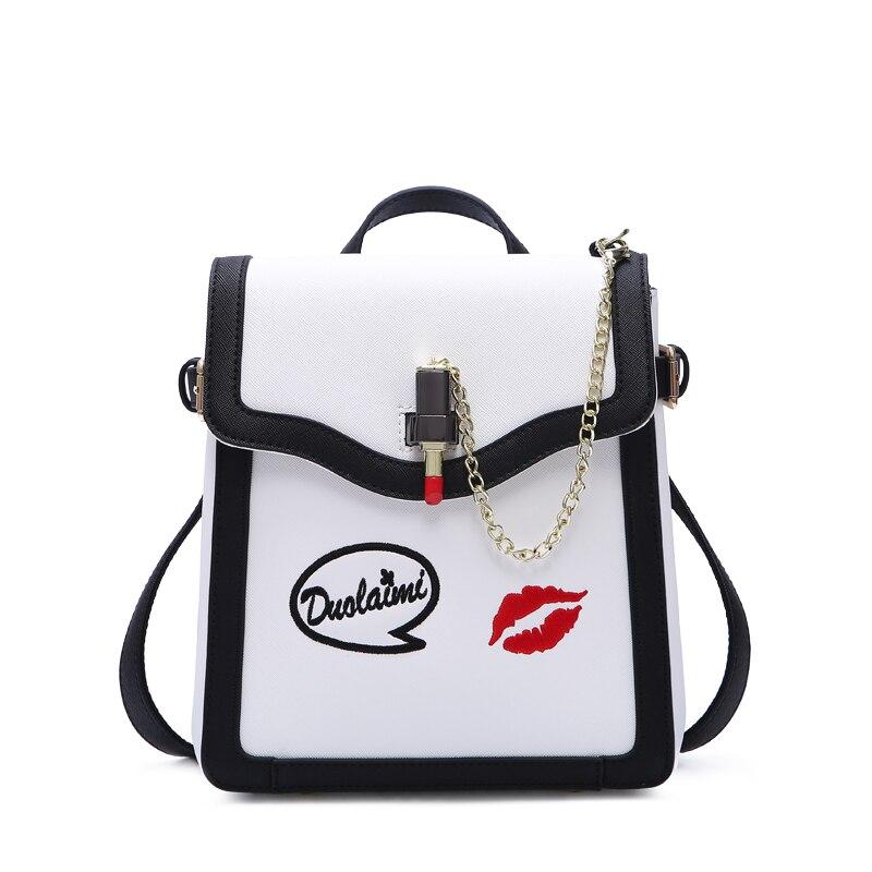 2018 new beautiful women Ladies handbag fashion crocodile pattern purse women bag black bag crocodile pattern tote bag with purse