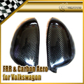 New Car Styling For Volkswagen Golf MK5 Carbon Fiber Side Mirror Cover 2pcs Car Accessories