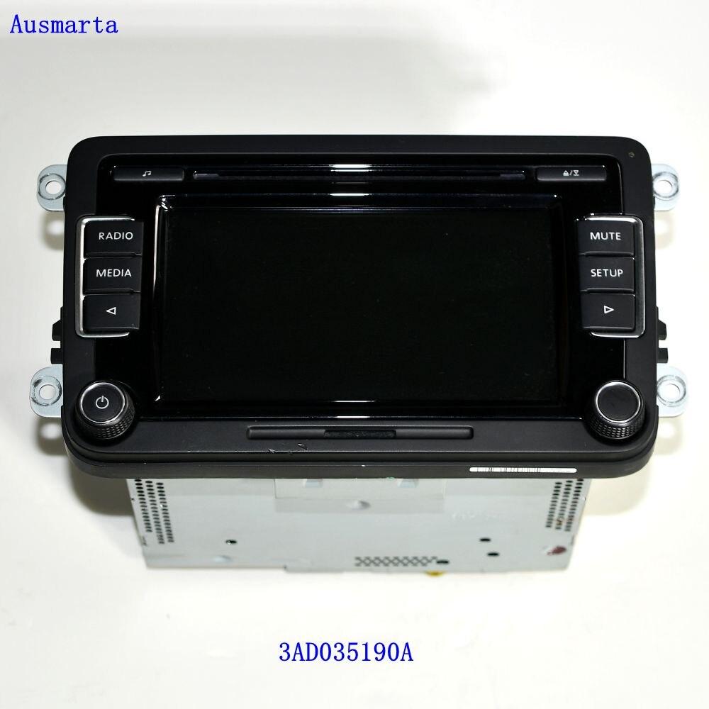 Original Auto Radio RCD510 CD USB AUX RVC Rear View Camera Golf 5 6 MK5 MK6 Jetta CC Passat Tiguan 3AD035190A