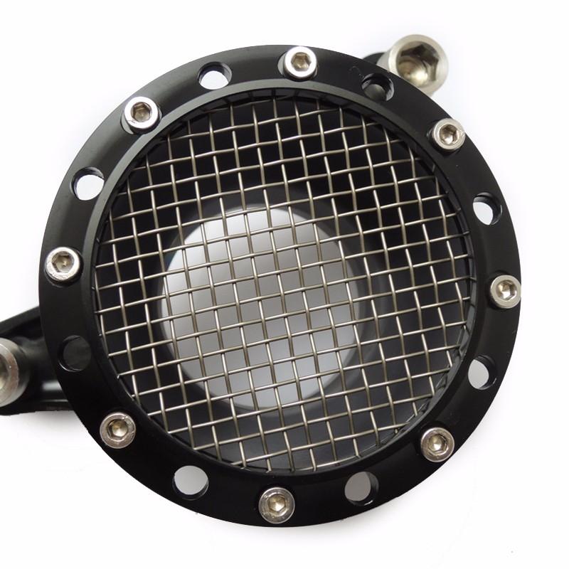 For 1991-2014 Sportster 883 1200 & Big TwinTwin Cam 1993-2006 (CV Carburetors) Velocity Stack Air Cleaner Kit Black (8)