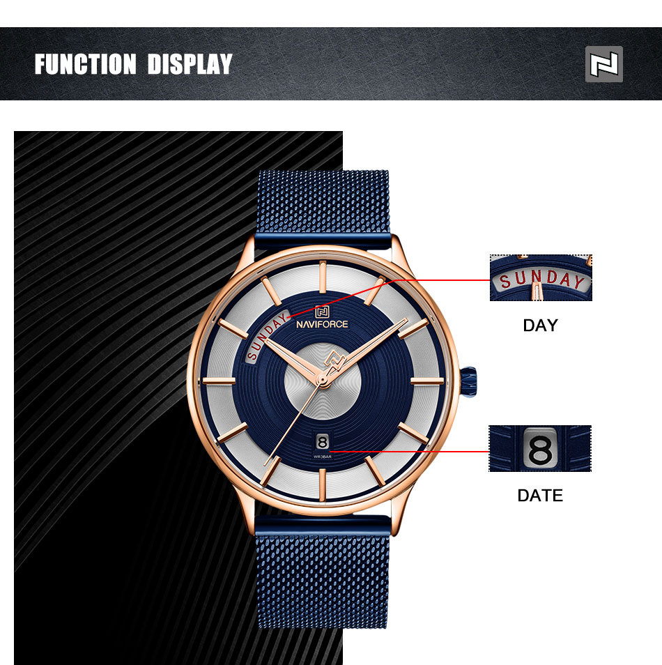 NAVIFORCE 3007 Watch