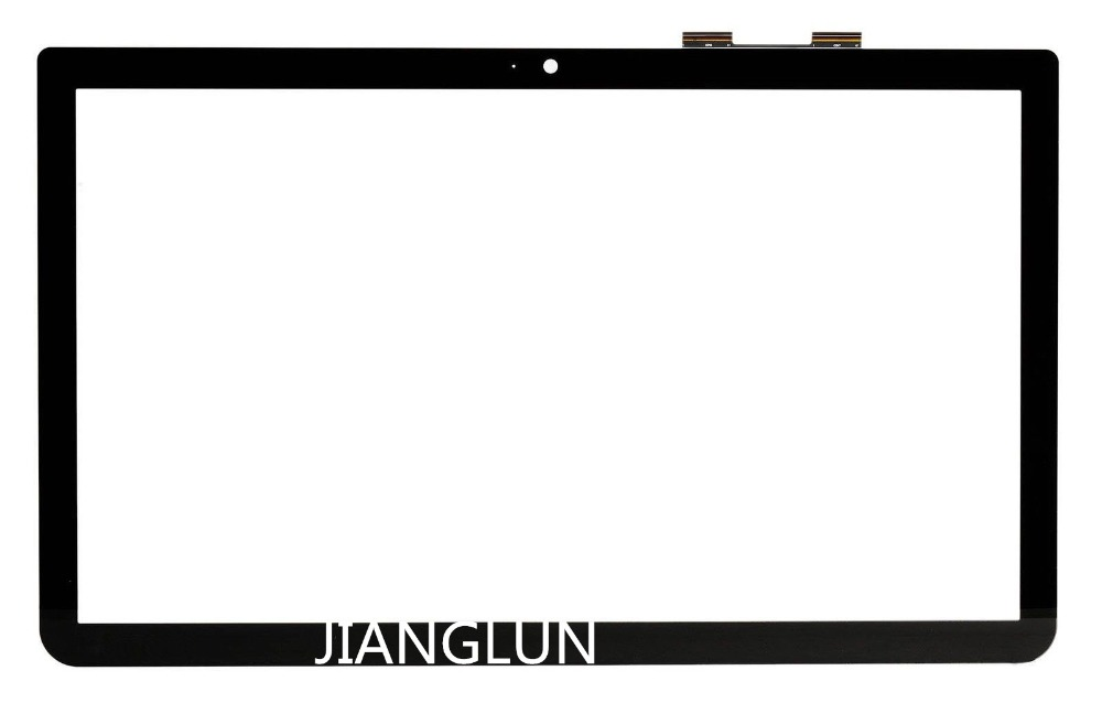 JIANGLUN 15.6 LCD Touch Screen Glass Digitizer For Toshiba S55T-B Black Color original for nokia n9 lcd screen and touch screen digitizer black