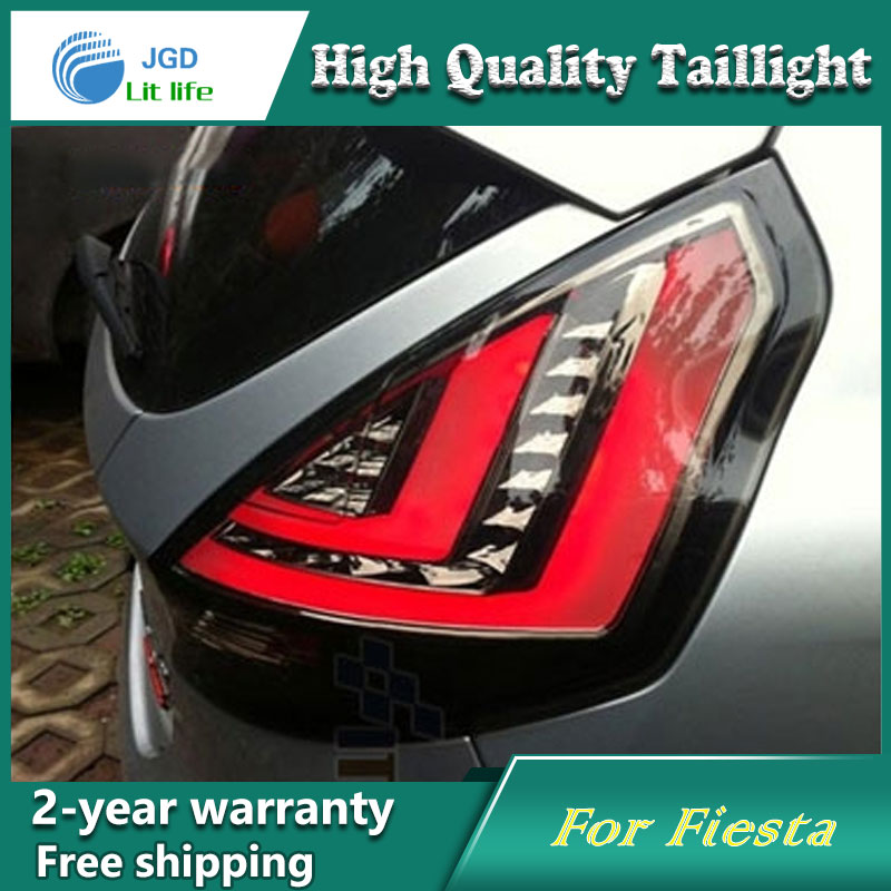 Car Styling Tail Lamp for Ford Focus 2009-2013 Tail Lights LED Tail Light Rear Lamp LED DRL+Brake+Park+Signal Stop Lamp akd car styling for hyundai santa fe led tail lights 2007 2013 new santa tail light rear lamp drl brake park signal