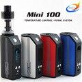 2017 Hot selling Kangside Mini 100W Mod Kit electronic Cigarette Kits Vaporizers 5W-100W Temperature Control E Cig Mod 4 Colors